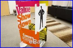 Vintage Chevrolet Camaro Nova Advertising Showroom Dealership Floor Display