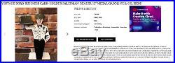 Vintage Chevrolet Ok Used Cars 12 Metal Gm Business Card Holder Gas & Oil Sign