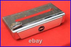 Vintage Chevy Auto Serv Tissue Dispenser Kleenex Dispenser Dash Accessory Bowtie