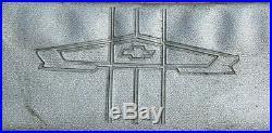 Vintage Chevy Visor Mirror Vanity Mirror Comb Pocket Accessory Impala BelAir GM