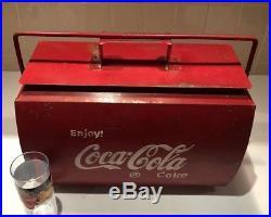 Vintage Coca Cola Coke Cooler 1950's Bottle Opener VW CAMPERVAN Classic Car