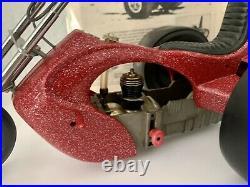 Vintage Cox Chopper Trike Car Engine Thimble Drome Motorcycle 1970s & Advert