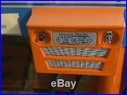 Vintage Drive In Diner Car hop Speaker Light Up Menu Board Sign Mels Drive In