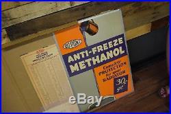 Vintage DuPont Duco Automobile NOS 1930's Anti Freeze Advertising Sign Gas Oil