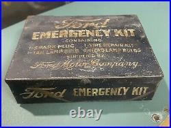 Vintage Ford Motor Company Emergency Kit