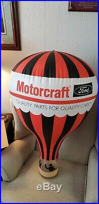 Vintage Ford Motorcraft Nos Inflatable Air Balloon
