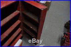 Vintage Ford Rotunda Parts Garage Dealership Display Cabinet Sign Car Truck