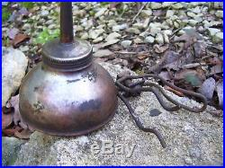 Vintage Ford original Oil can under hood auto tool kit promo parts w bracket 30s