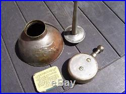 Vintage Ford script Oil can auto fuse kit box tin tire gauge promo oiler parts