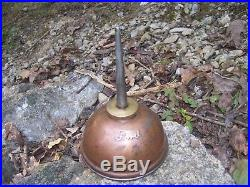 Vintage Ford script under hood antique Oil can oiler tool kit automobile part