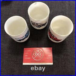 Vintage Honda Sake Cups Espresso Glass Collectible Mugs TN360 N360 LN360 60s 70s