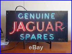Vintage Jaguar Neon Sign
