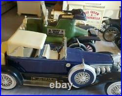 Vintage Jim Beam Decanter-Model Car Collection, Lot of 6