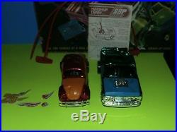 Vintage Kenner Smash Up Derby Set Chevy C10 Vw Bug Complete In Box 1972 Toy Nr