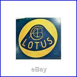 Vintage Lotus Automobile Outdoor Dealer Sign