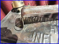 Vintage MP Motor Spirit 2 Gallon Petrol Can Automobilia Collectable RARE 1925