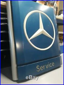 Vintage Mercedes Benz Original Dealership Service Sign