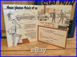 Vintage NOS Chevrolet Promo Advertising Chevy Car Dealership Mailer Cards In Box