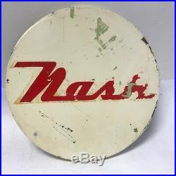 Vintage Nash advertising sign
