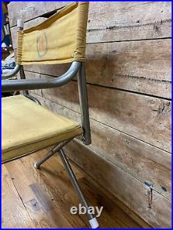 Vintage OK Chevrolet Used Car Directors Folding Chair