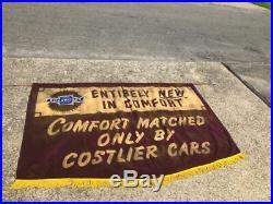 Vintage Original 1940's Chevrolet Chevy Dealer Showroom Banner Sign Comfort NR