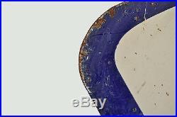 Vintage Original 2 SIDED Ford Genuine Parts Porcelain Sign 35X28