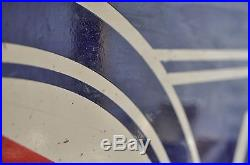 Vintage Original 2 SIDED Packard Porcelain Sign 47X32