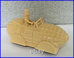 Vintage Planters Mr. Peanut Car Molded Plastic