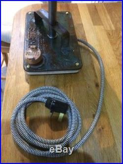 Vintage Pratts Petrol Oil Can Lamp Automobilia Barn Find Industrial Lighting