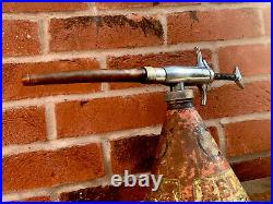 Vintage Retro Redex Oil Fuel Additive Dispenser Oil Can Great Patina