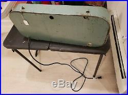 Vintage South Wind Car Heater Lighted Sign 1940s Ford Chevrolet Kaiser Mopar