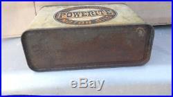 Vintage The Automobile Gasoline Co Powerite Half Gallon Oil Can SUPER RARE 1917