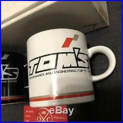 Vintage Toms Toyota Coffee Mugs JDM Rare TRD Celica Supra AE86 Corolla MR2 Cup
