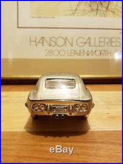 Vintage Toyota 2000GT Cigarette Case Brass Diecast Model Rare 124 118 67 68 69