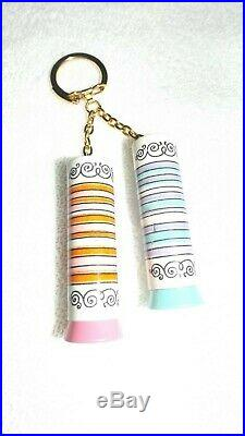 Vintage Yardley Lipstick Two On A Chain New