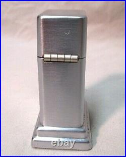 Vintage Zippo Barcroft Table Lighter Pontiac Service Craftsman 10 Year Award