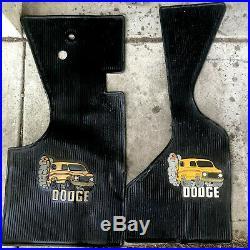Vintage dodge street van tradesman floor mats Vannin Streetvan