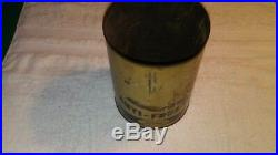 Vintage ford antifreeze rare oil can car graphics