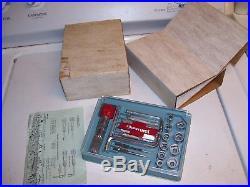 Vintage nos original 60s GM CHEVROLET promo Tool set kit gas oil auto parts usa1