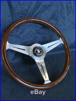 Volante Nardi Per Auto D'epoca Fiat Alfa Romeo Lancia Vintage Old Made In Italy