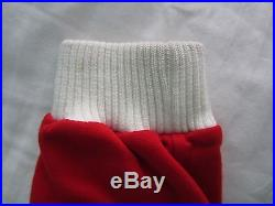 Vtg Classic ALFA ROMEO Sweater Sweatshirt Pullover Red White Italian Car Auto